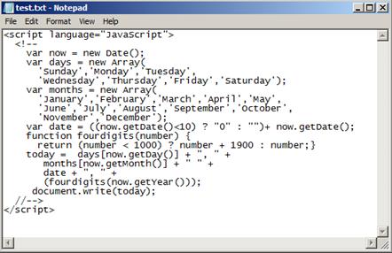 Javascript | Rana Omer Hussain's RegEdit