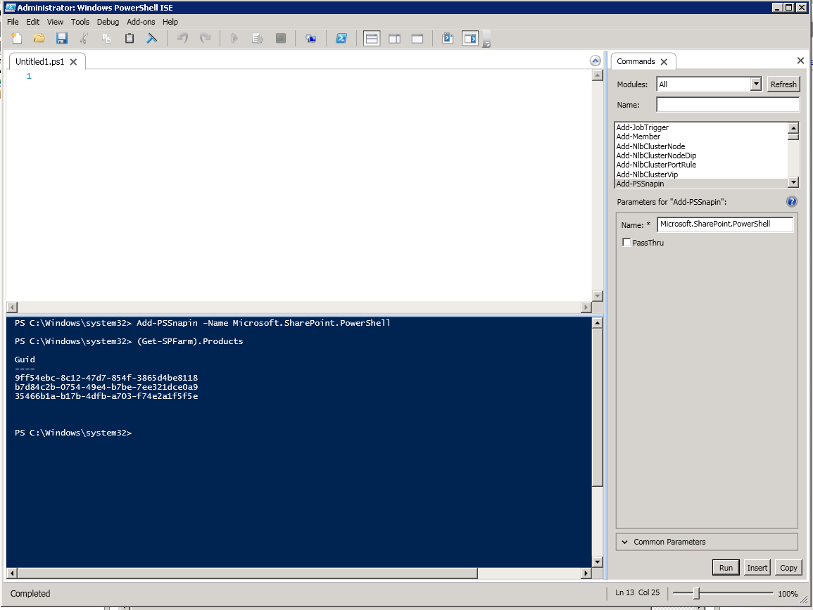 Windows PowerShell | Rana Omer Hussain's RegEdit