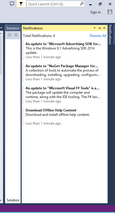 Visual Studio 2012 - Ultimate 10