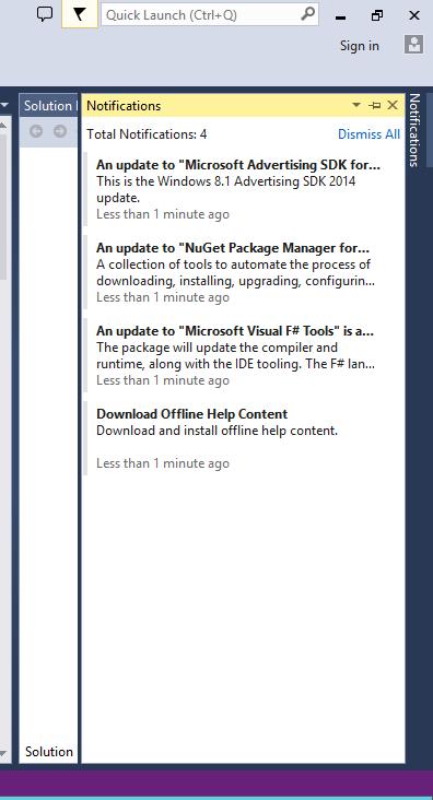 Visual Studio 2012 - Ultimate 10