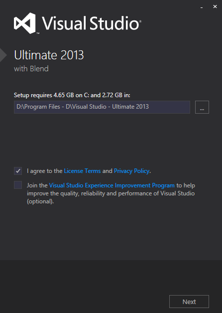 Visual Studio 2012 - Ultimate 2