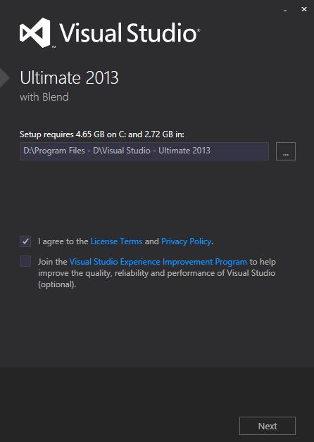 Visual Studio 2012 - Ultimate 2