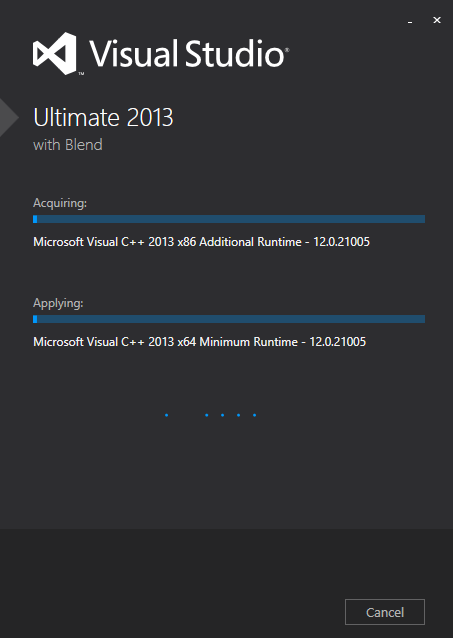 Visual Studio 2012 - Ultimate 4 new
