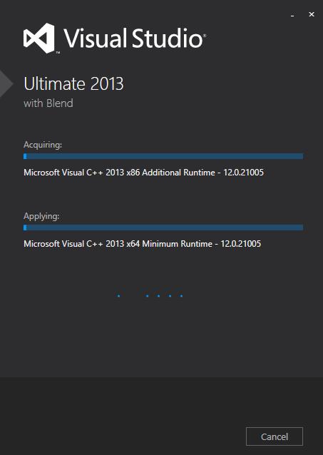 Visual Studio 2012 - Ultimate 4 new
