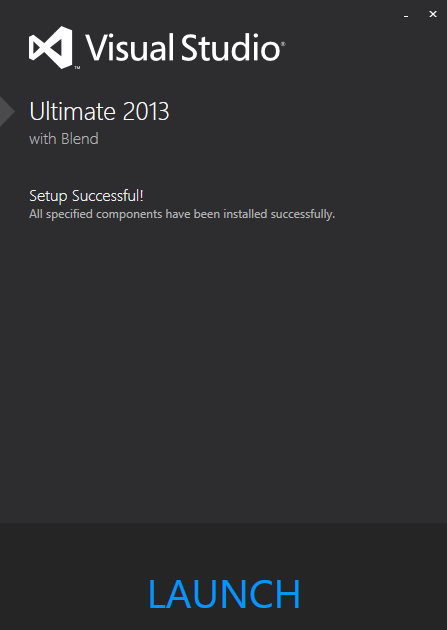Visual Studio 2012 - Ultimate 6