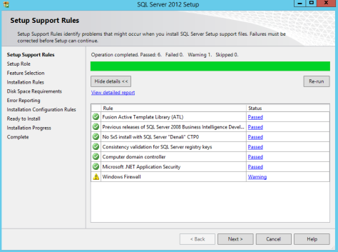 Microsoft SQL SERVER 2012 Installation 10