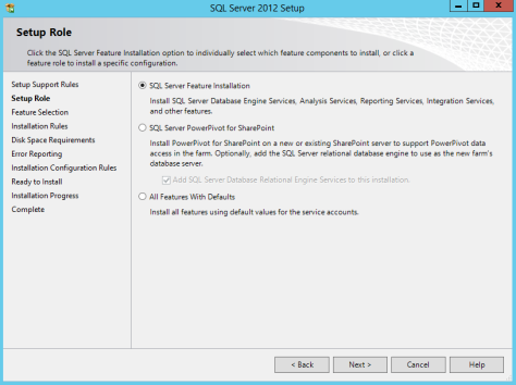 Microsoft SQL SERVER 2012 Installation 11