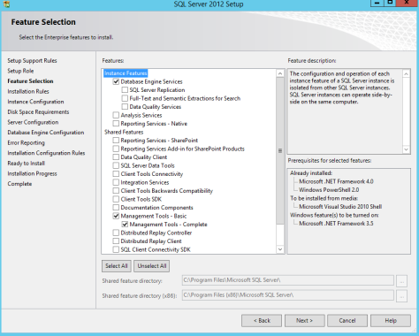 Microsoft SQL SERVER 2012 Installation 12