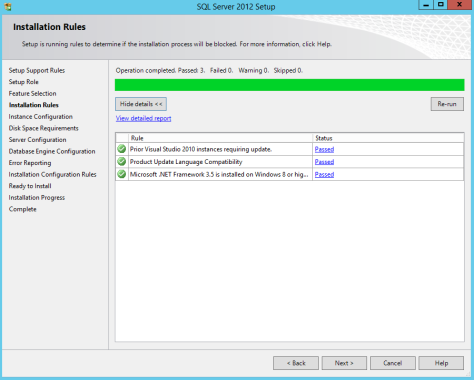 Microsoft SQL SERVER 2012 Installation 14