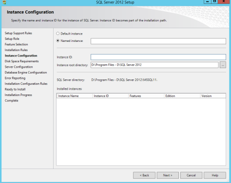 Microsoft SQL SERVER 2012 Installation 15