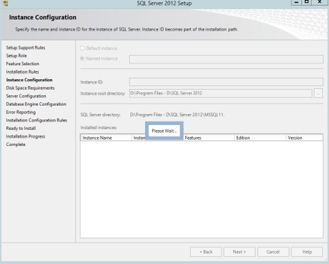 Microsoft SQL SERVER 2012 Installation 16