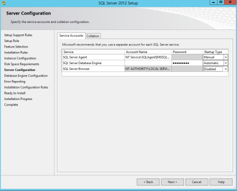 Microsoft SQL SERVER 2012 Installation 18