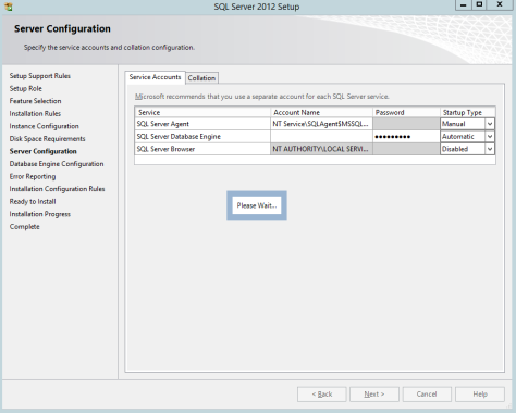 Microsoft SQL SERVER 2012 Installation 19