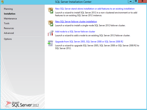 Microsoft SQL SERVER 2012 Installation 2
