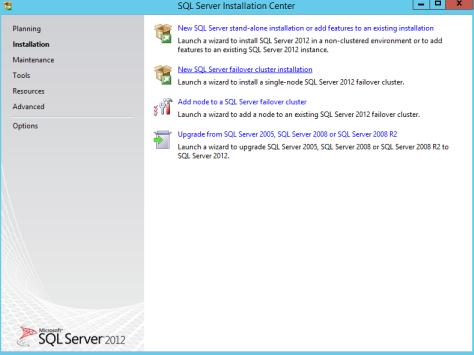 Microsoft SQL SERVER 2012 Installation 2