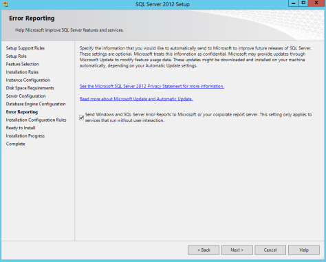 Microsoft SQL SERVER 2012 Installation 22