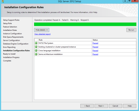 Microsoft SQL SERVER 2012 Installation 23