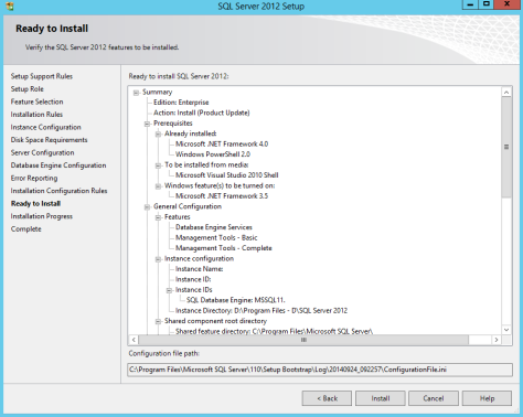 Microsoft SQL SERVER 2012 Installation 24