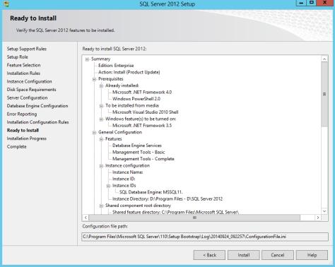 Microsoft SQL SERVER 2012 Installation 24