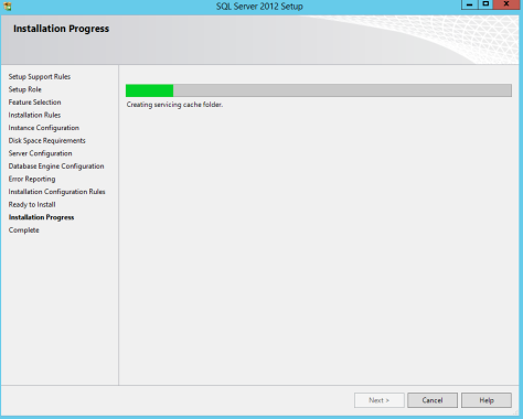 Microsoft SQL SERVER 2012 Installation 25