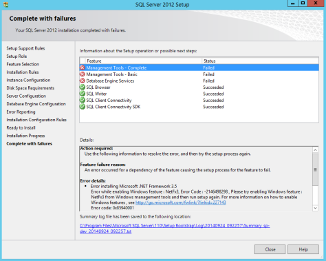 Microsoft SQL SERVER 2012 Installation 27 After Restart