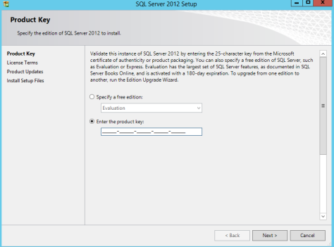Microsoft SQL SERVER 2012 Installation 5
