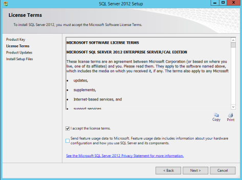 Microsoft SQL SERVER 2012 Installation 6